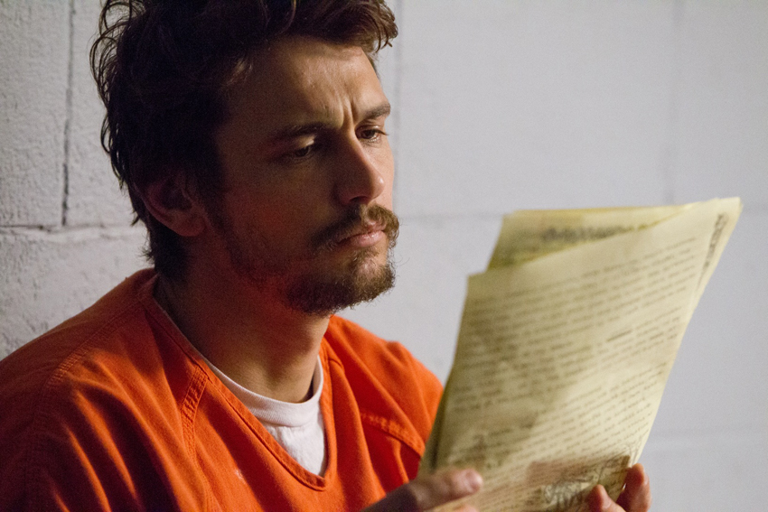 "James Franco as ""Christian Longo"" in TRUE STORY. Photos by Mary Cybulski.  Copyright © 2015 Twentieth Century Fox Film Corporation All Rights Reserved."
